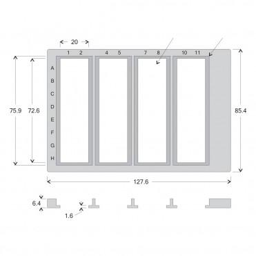 FlexWell™ 4 Slide Tray