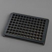 ProPlate® 96 Square Well, Bottomless Adhesive Microtiter Plate, Black Polycarbonate - SKU: 204960