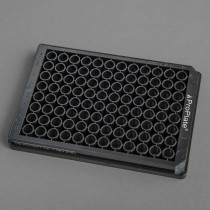 ProPlate® 96 Round Well, Bottomless Adhesive Microtiter Plate, Black Polystyrene - SKU: 204969
