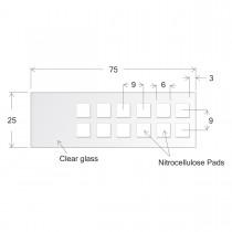 ONCYTE® Nitrocellulose Film Slides-6 x 6 (sku 505012)