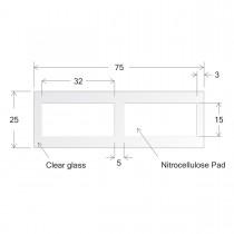 ONCYTE® Nitrocellulose Film Slides-15 x 32 (sku 505102)