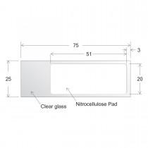 ONCYTE® Nitrocellulose Film Slides-20 x 51 (sku 705170)