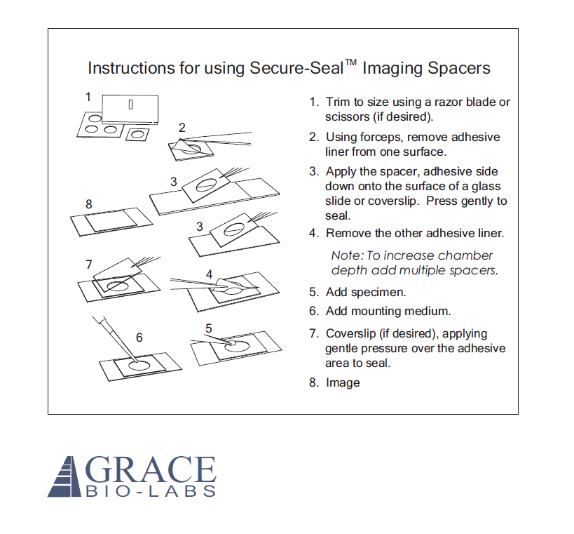 Imaging Spacer Instructions